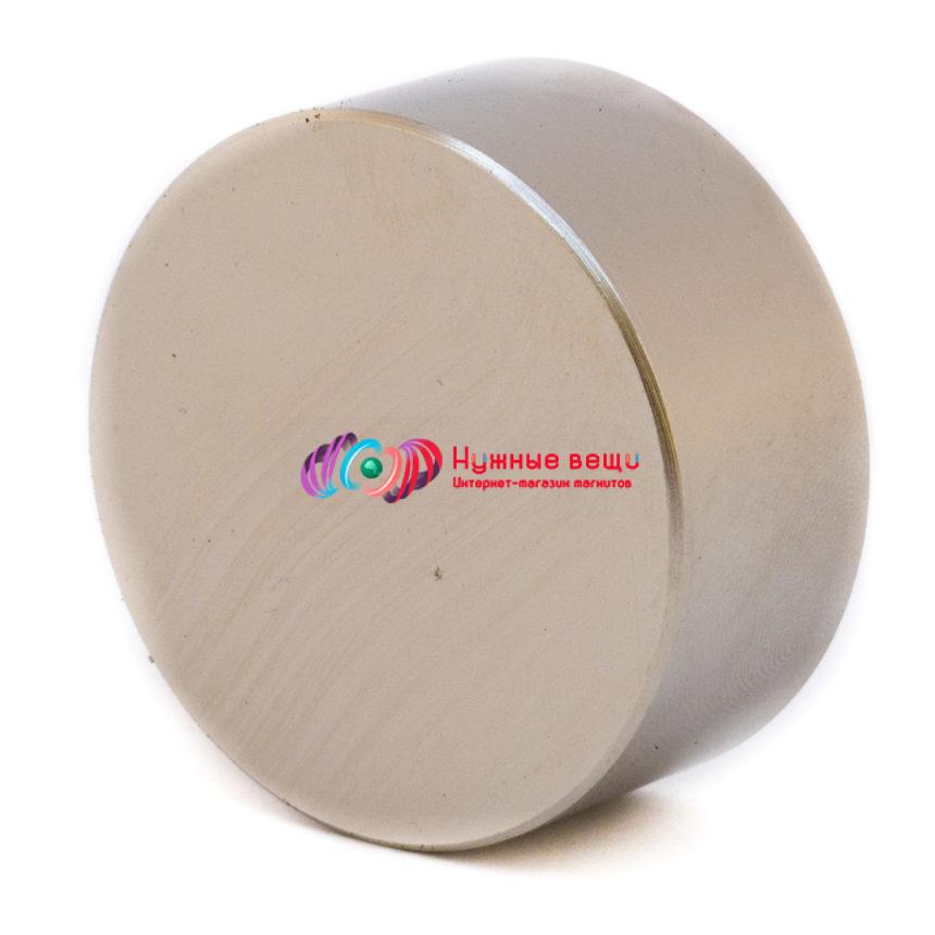 Неодимовый магнит 40х20 N42