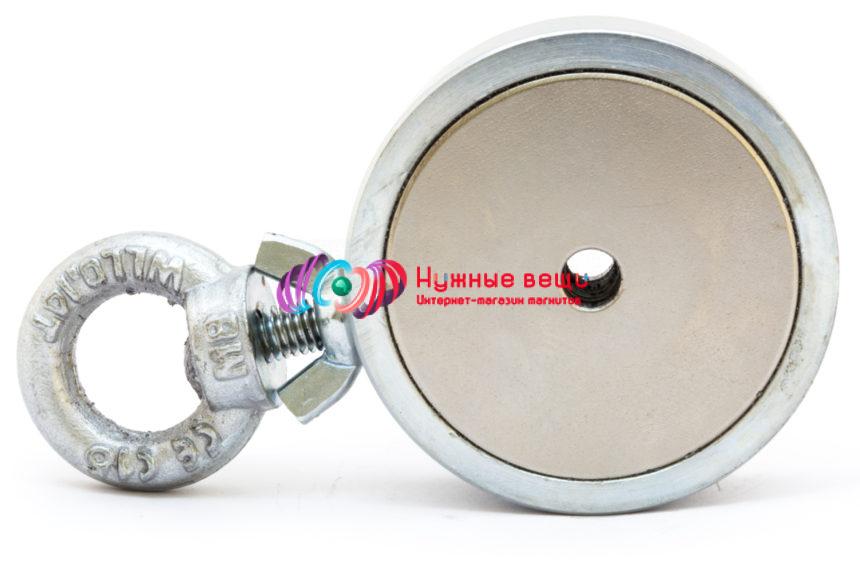 Поисковый магнит МП200х2