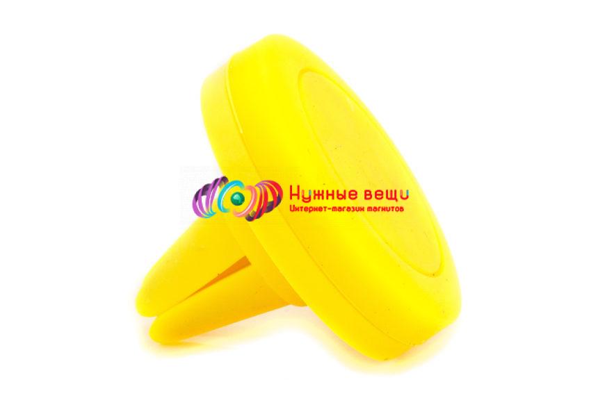 Держатель для мобильного телефона желтого цвета